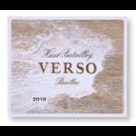 Wine Chateau Haut-Batailley Pauillac Verso 2018
