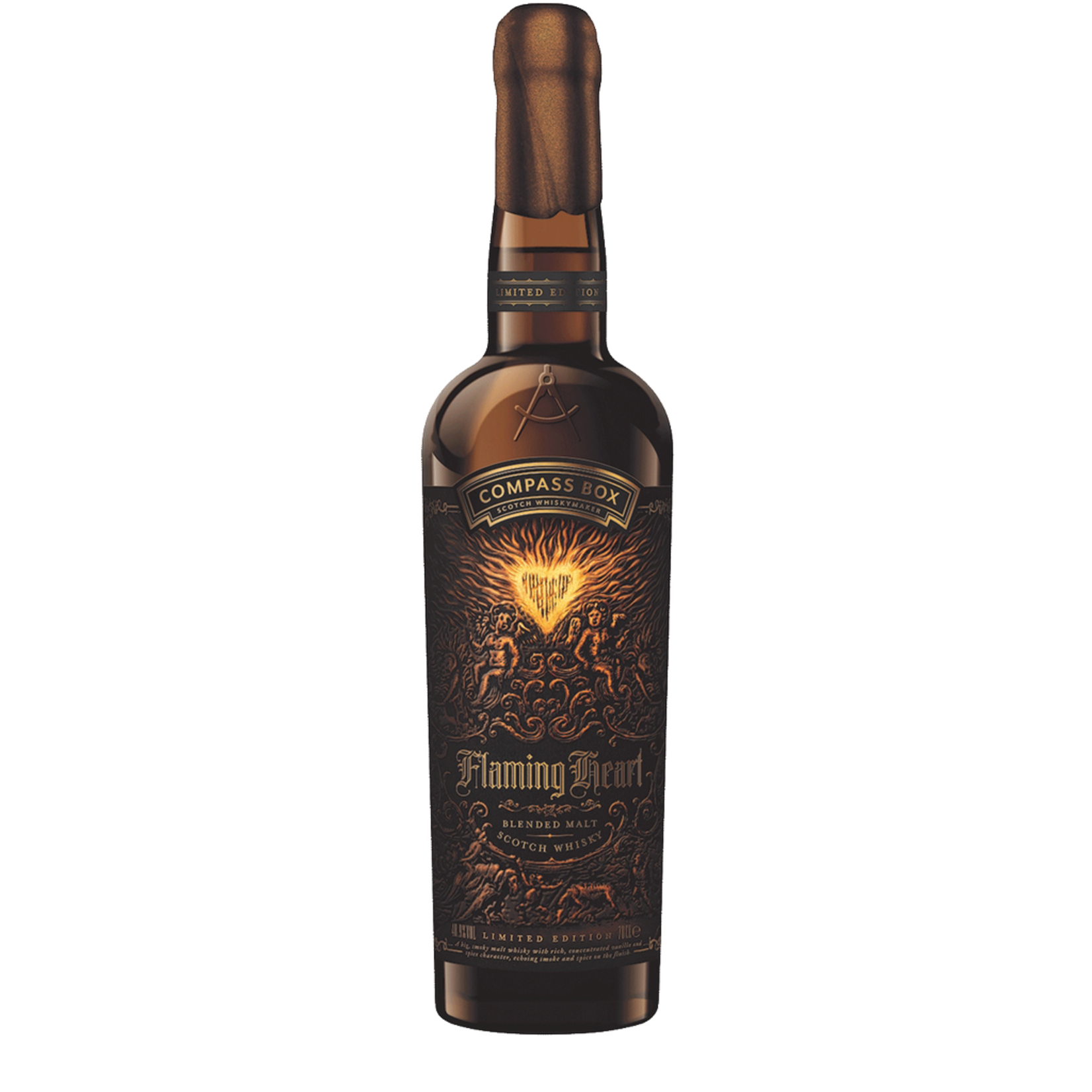 Spirits Compass Box Flaming Heart 6th Edition 2018 Limited Edition