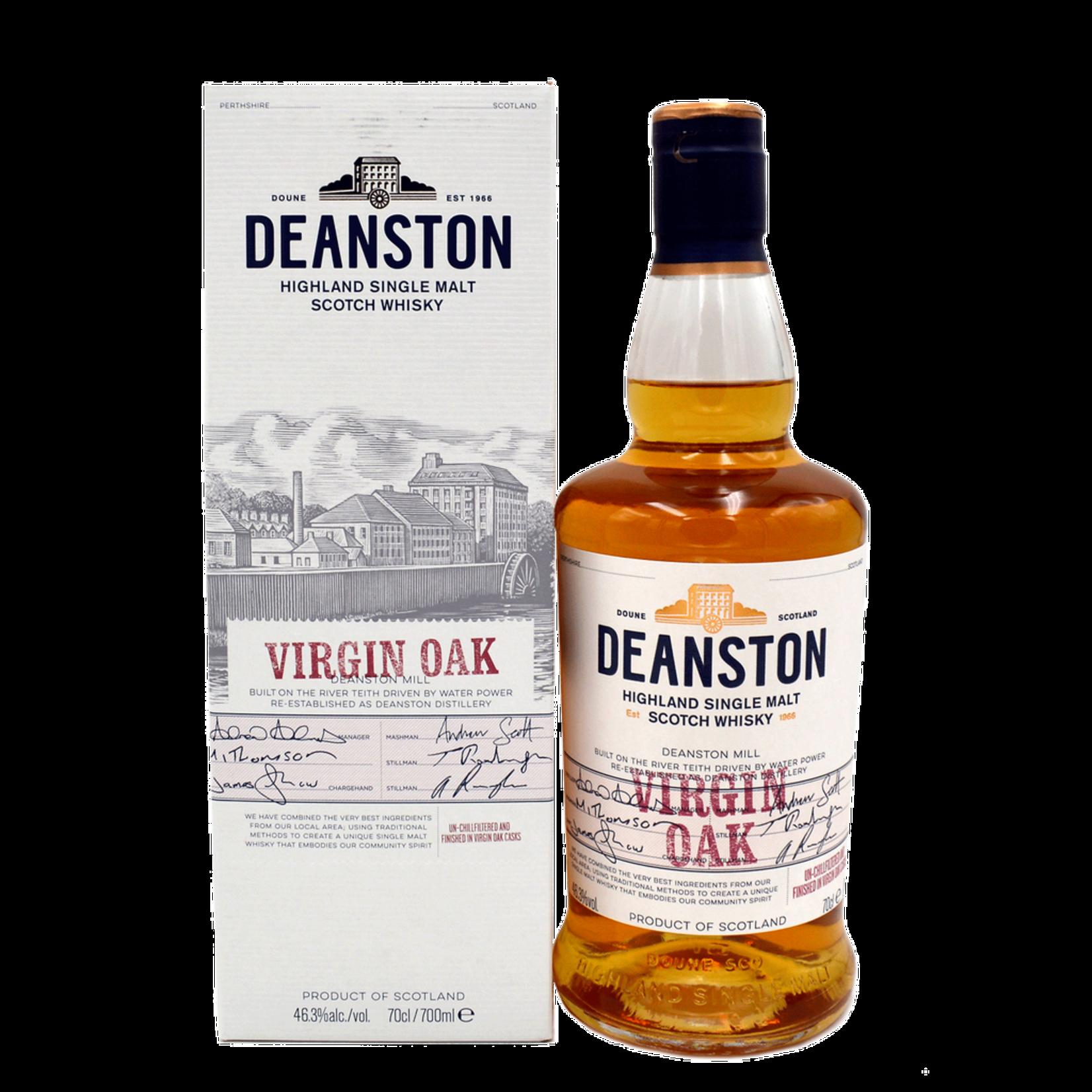 Deanston Virgin Oak Scotch
