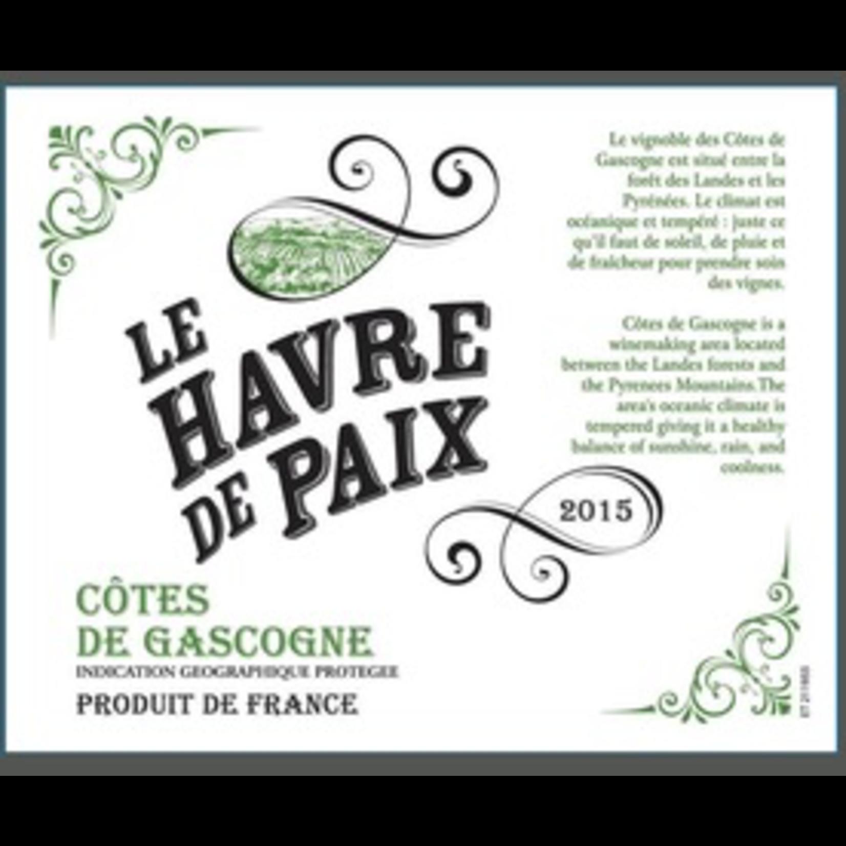 Wine Le Havre de Paix Cotes de Gascogne