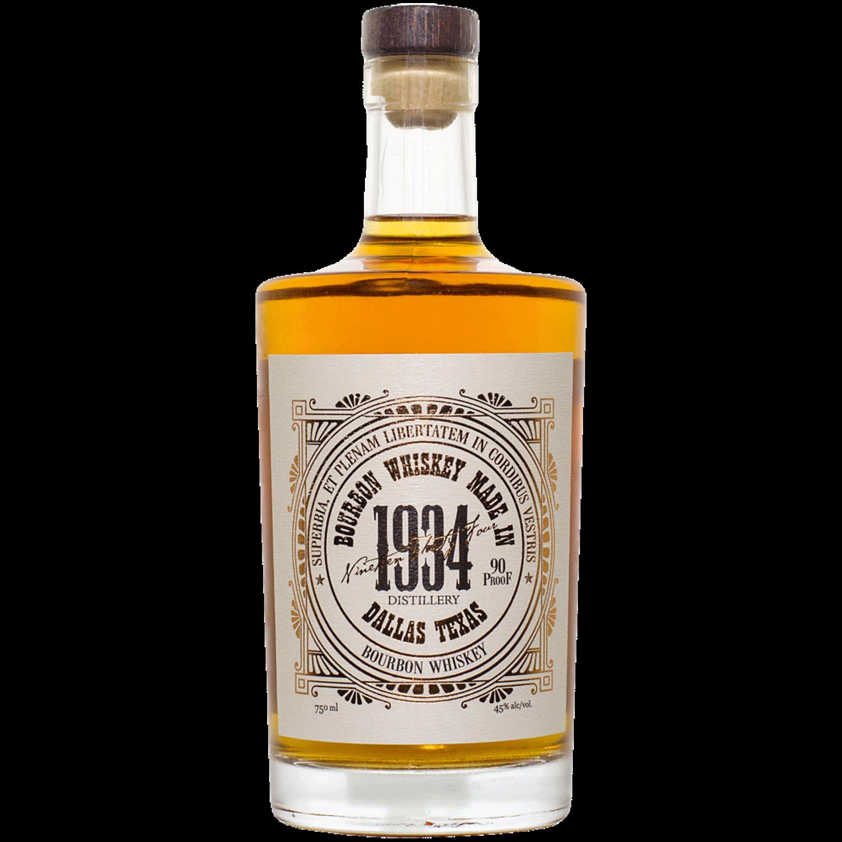 Spirits 1934 Distillery Texas Bourbon Whiskey