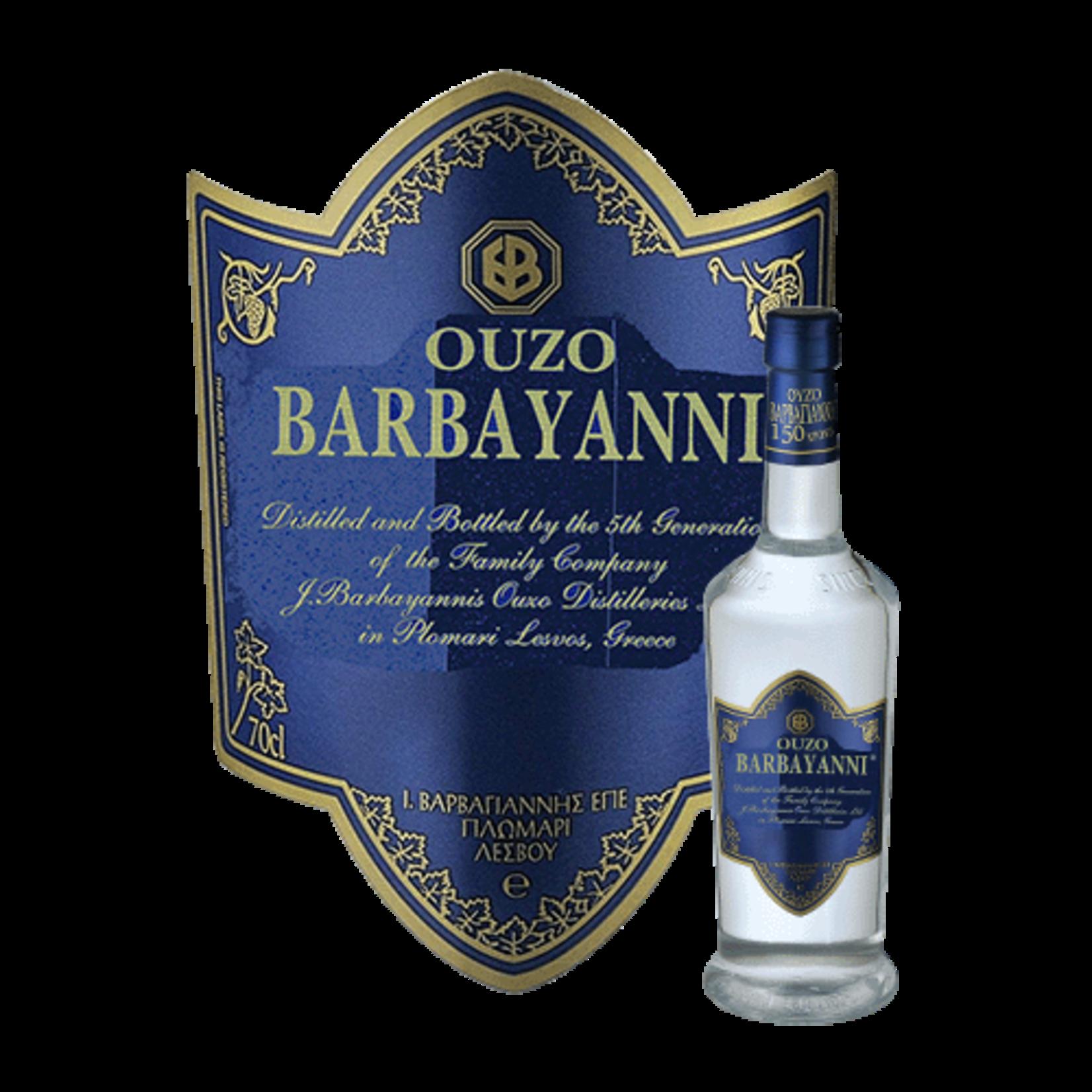 Spirits Barbayanni Ouzo Blue