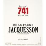 Sparkling Jacquesson Champagne Extra Brut Cuvee 741