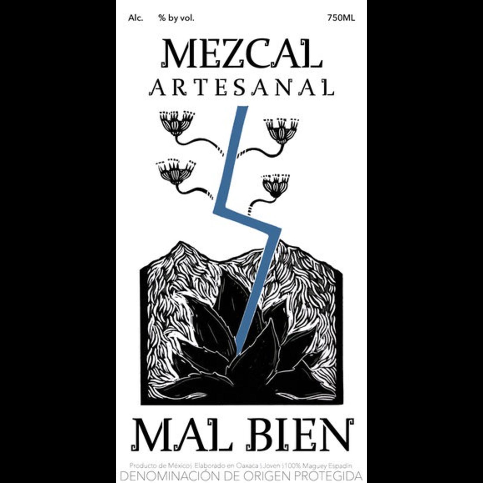 Spirits Mal Bien Espadin Mezcal Artesanal