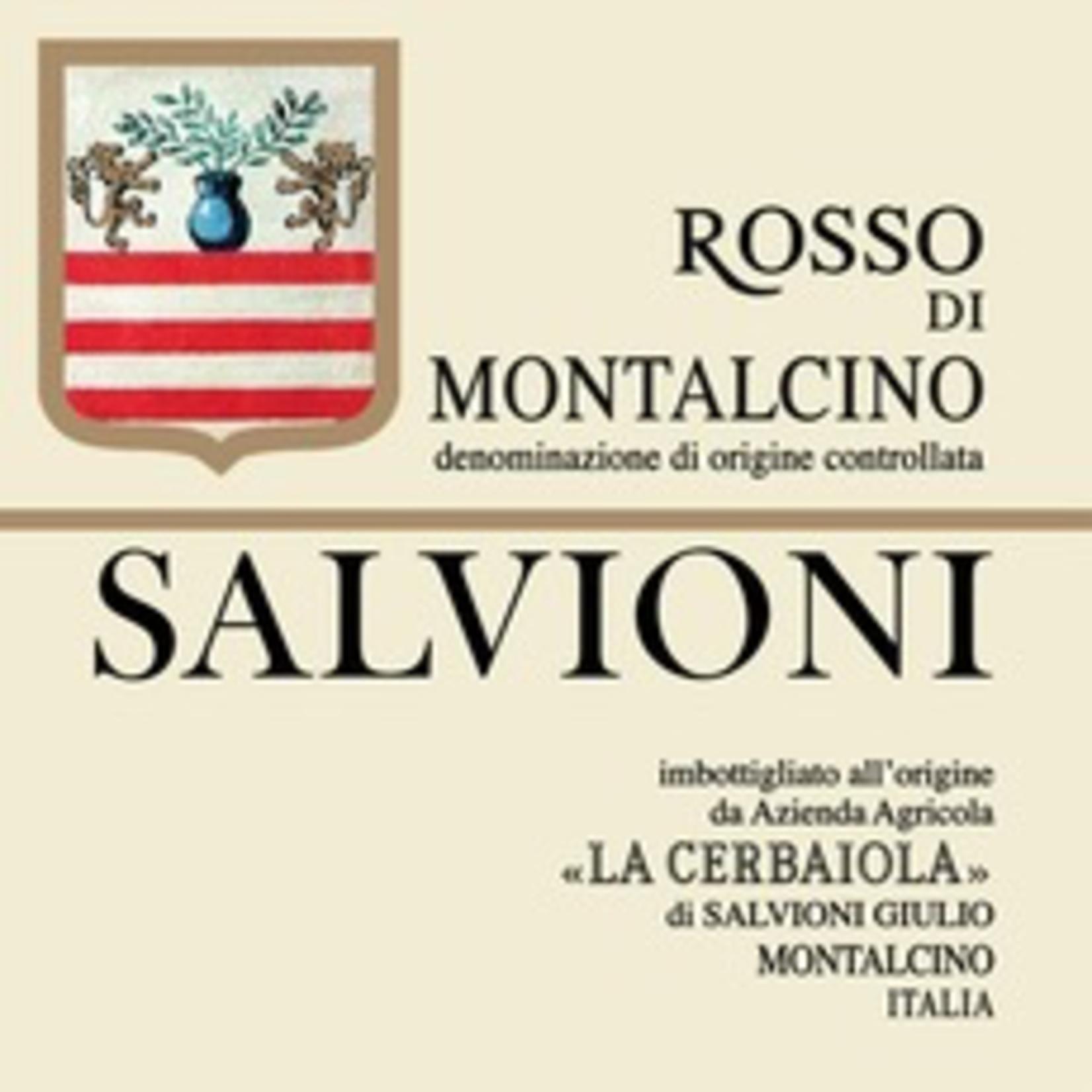 Wine Salvioni Rosso di Montalcino 2017