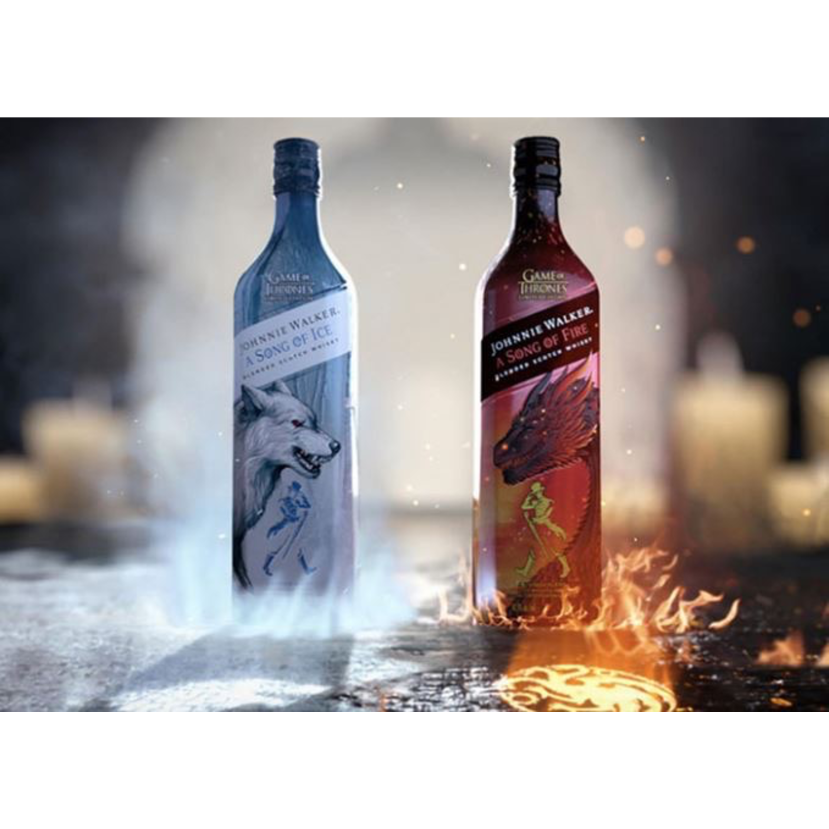 Spirits Game of Thrones Johnnie Walker A Song of Ice Scotch Whisky
