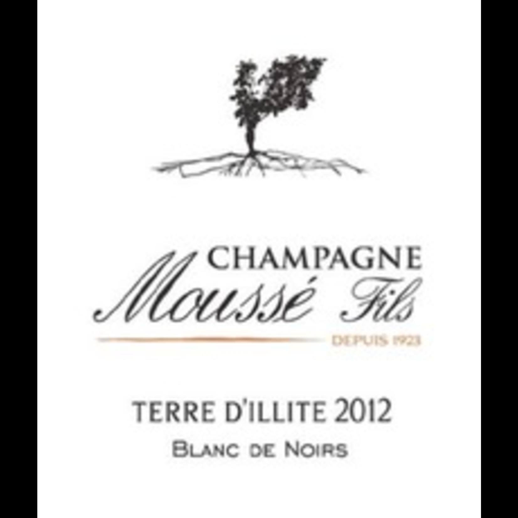 Mousse Fils Champagne Brut Blanc de Noirs Terre D'Illite 2013