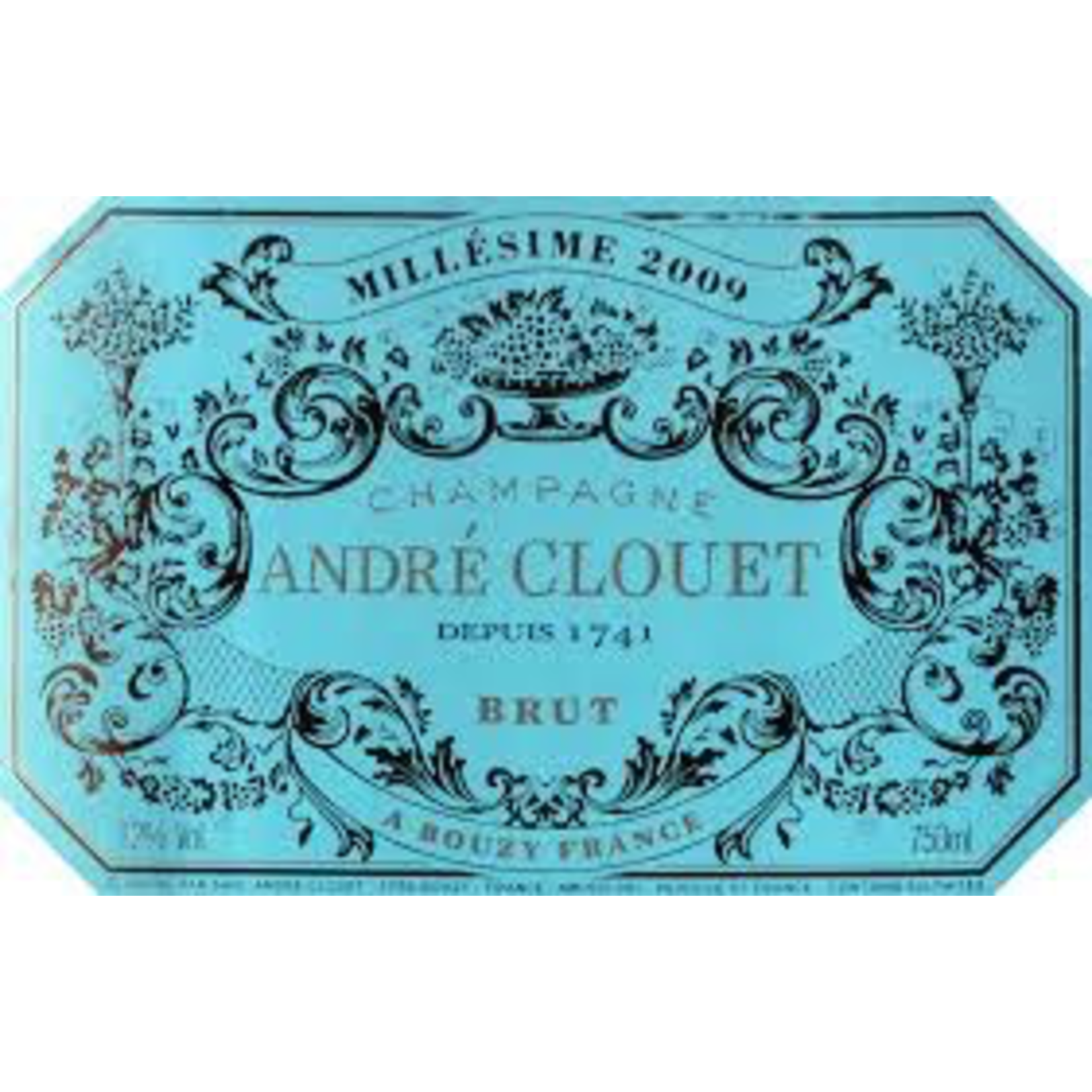 Sparkling Andre Clouet Champagne Millesime 2009