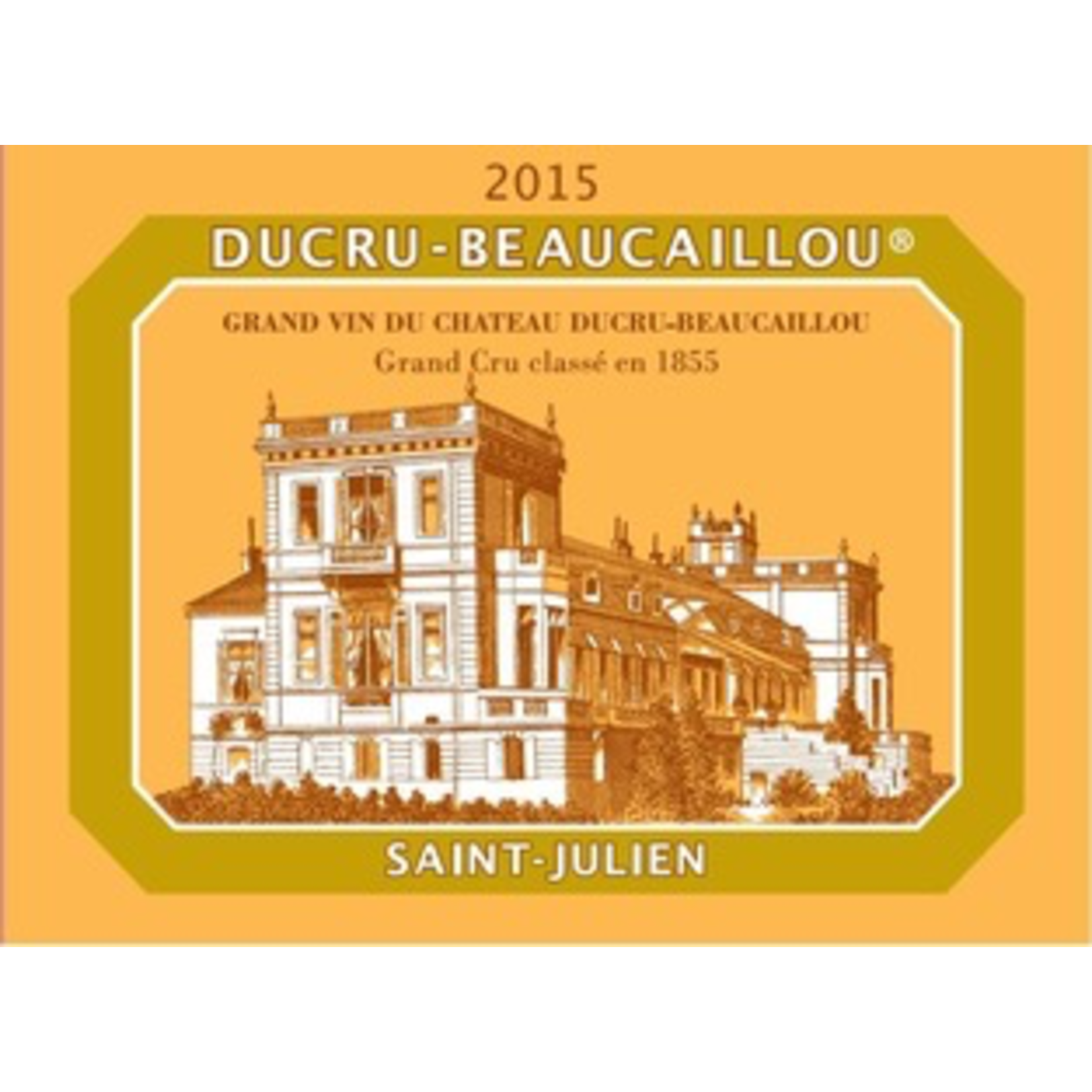 Wine Chateau Ducru Beaucaillou Saint Julien 2015