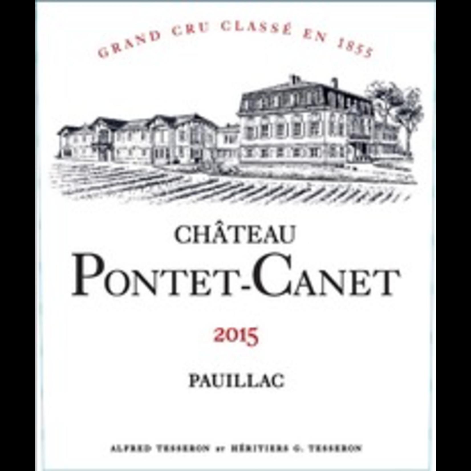 Chateau Pontet Canet Pauillac 2015