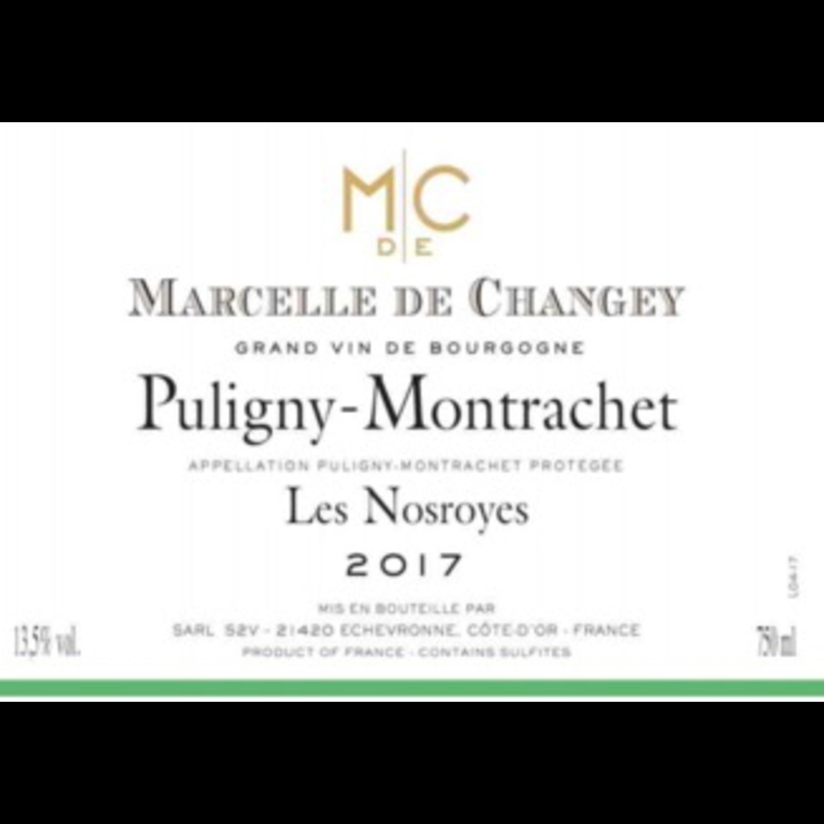 Marcelle de Changey Puligny Montrachet Les Nosroyes 2017