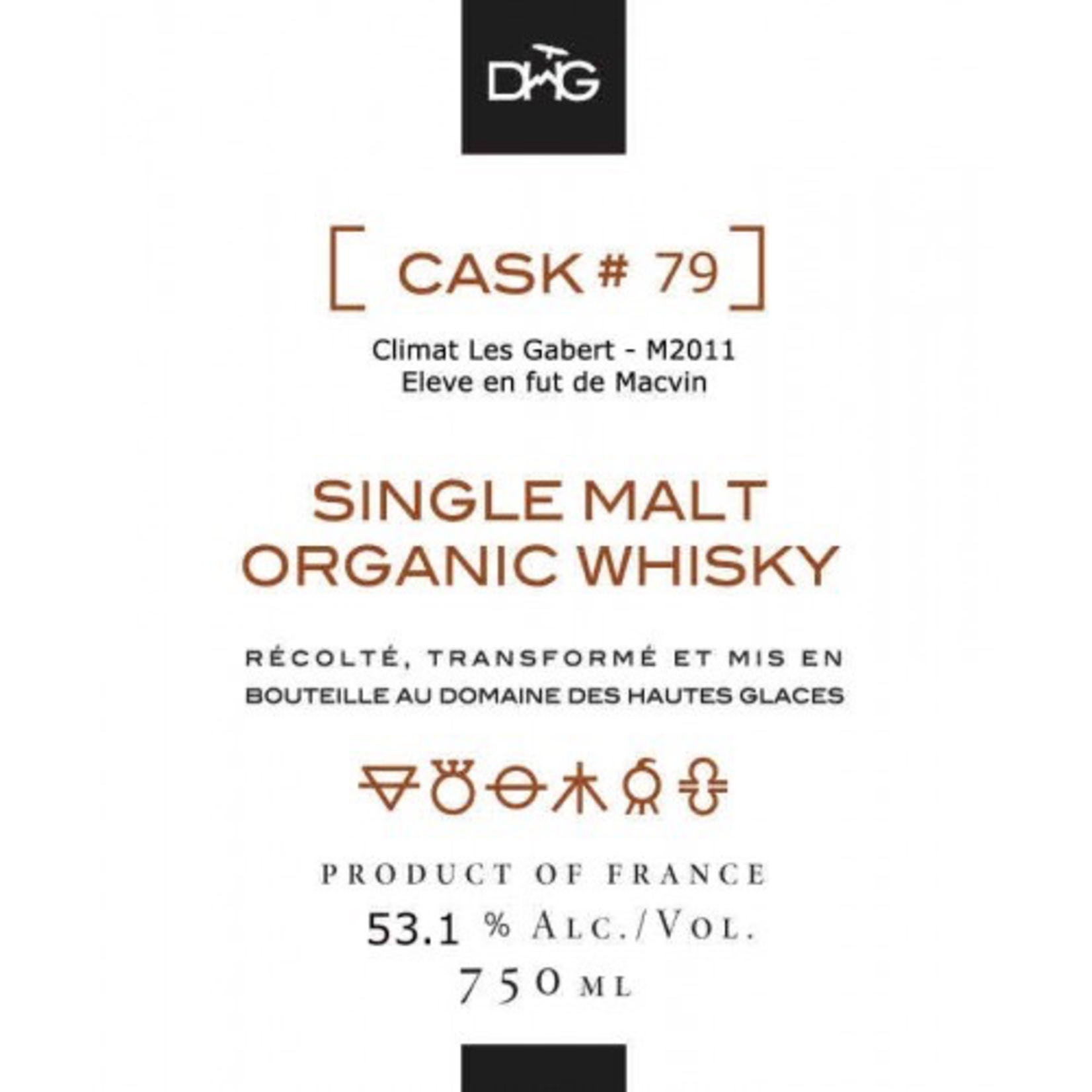 Spirits Domaine des Hautes Glaces Single Cask Single Malt French Whiskey