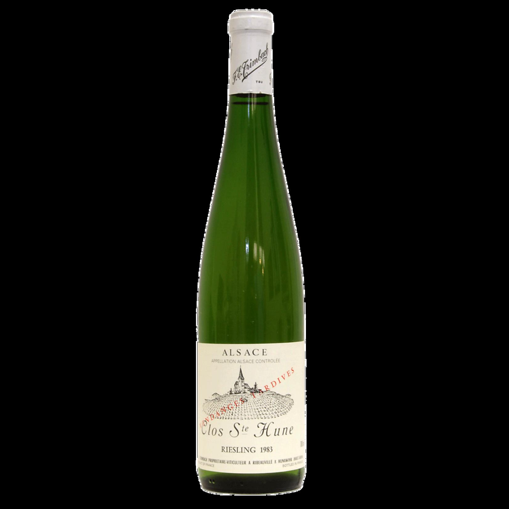 Wine Trimbach Riesling Clos Sainte Hune Vendanges Tardives 1997 375ml