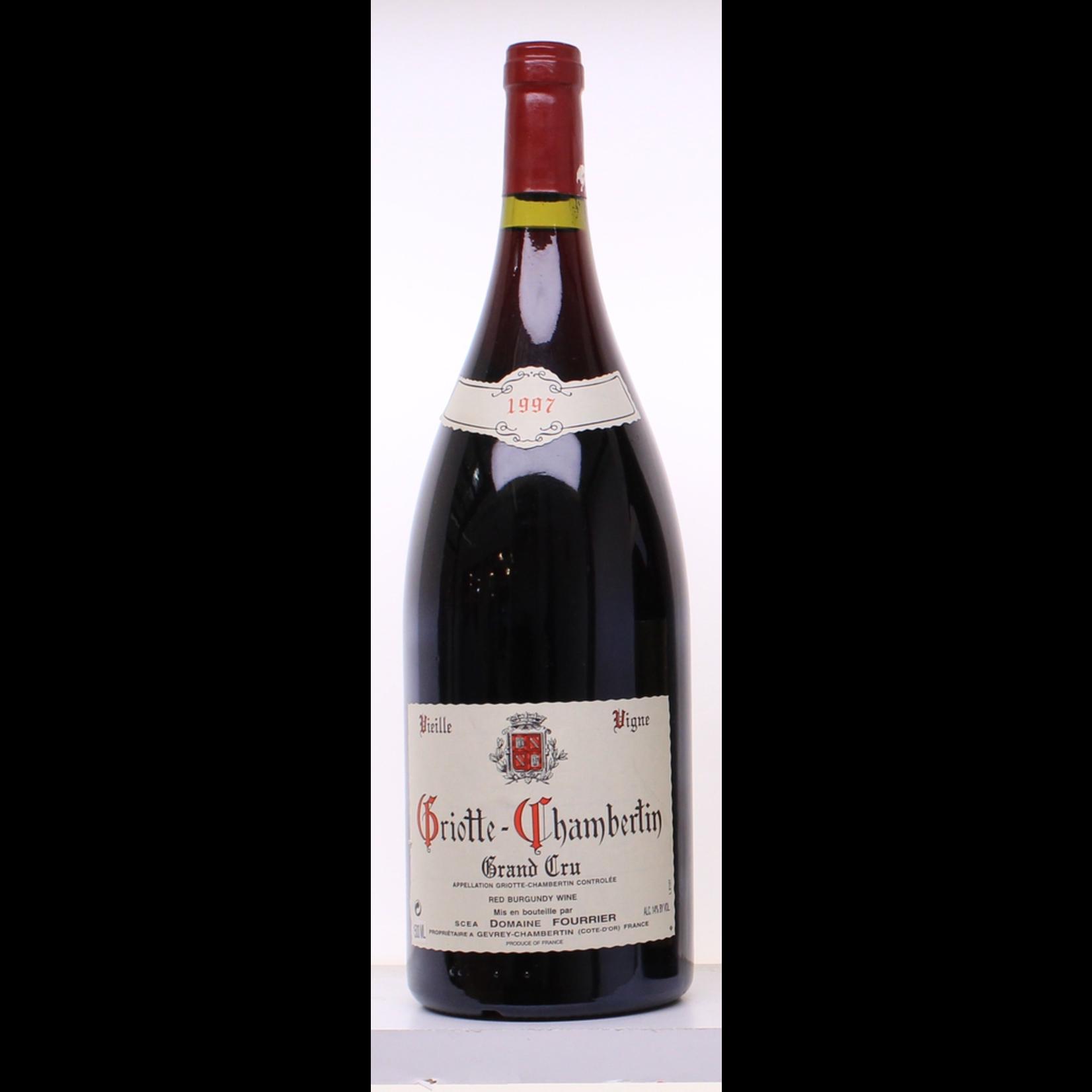 Wine Domaine Fourrier Griotte Chambertin Grand Cru 1997 1.5L