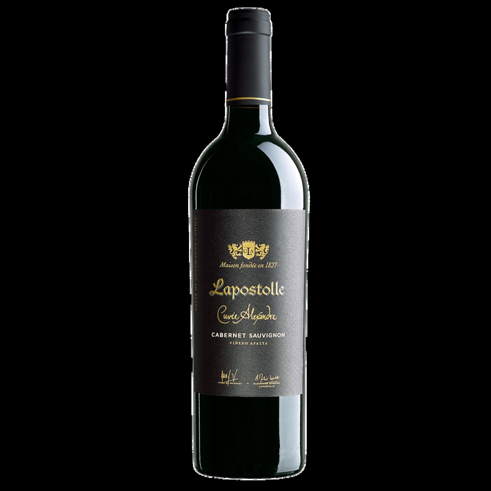 Wine Lapostolle Cuvee Alexandre Cabernet Sauvignon Apalta Vineyard Valle del Colchagua 2018