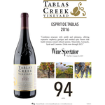 Tablas Creek Esprit Rouge 2016