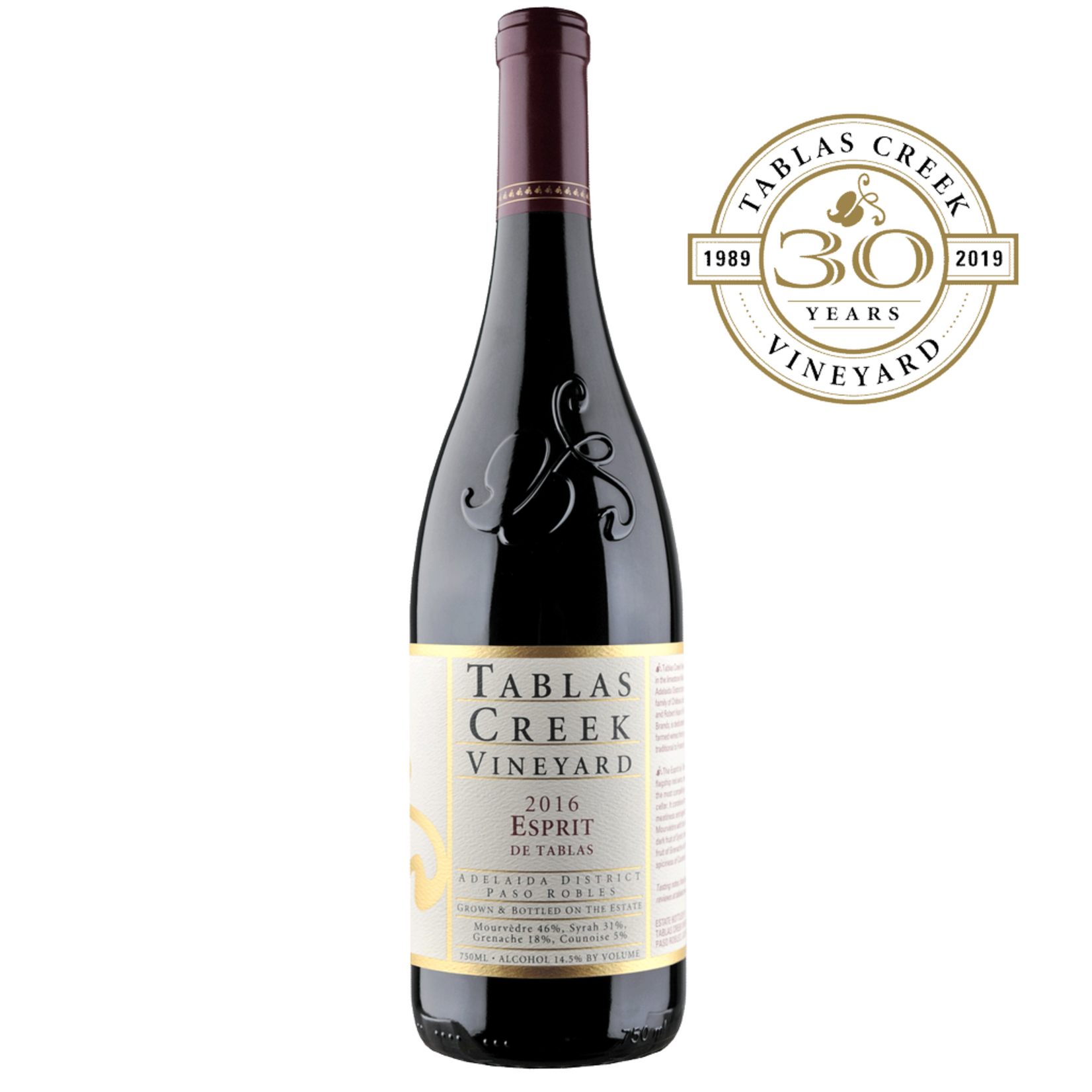 Wine Tablas Creek Esprit Rouge 2016