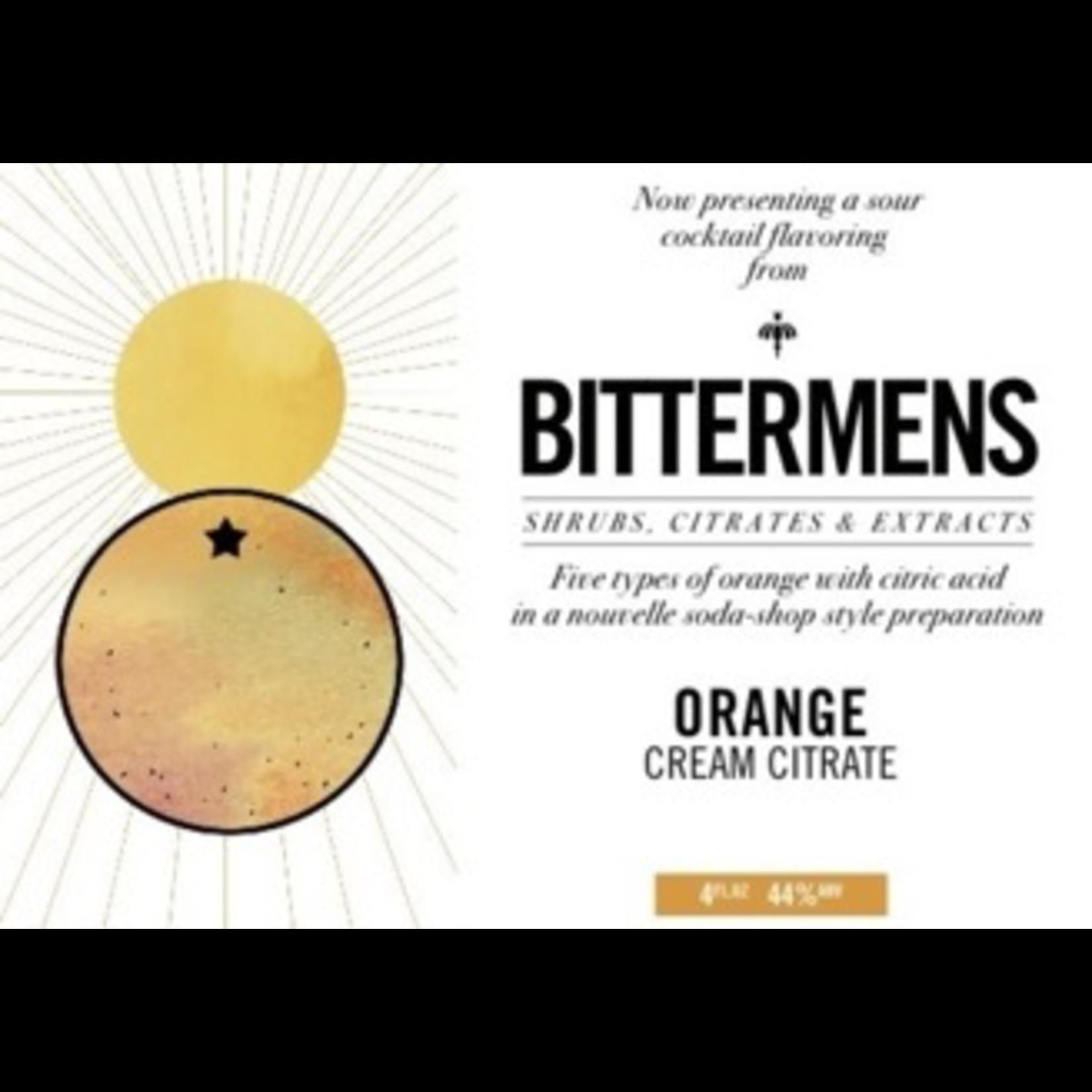 Spirits Bittermens Orange Cream Citrate 146ml