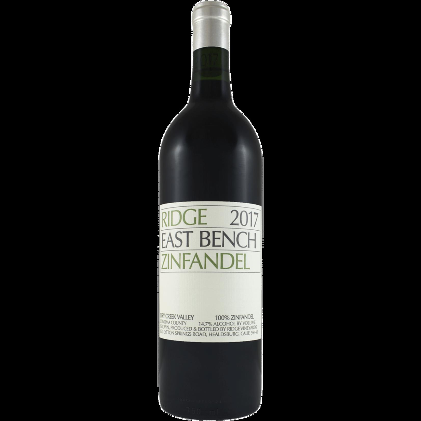 Wine Ridge Vineyards Zinfandel East Bench Dry Creek Valley 2018