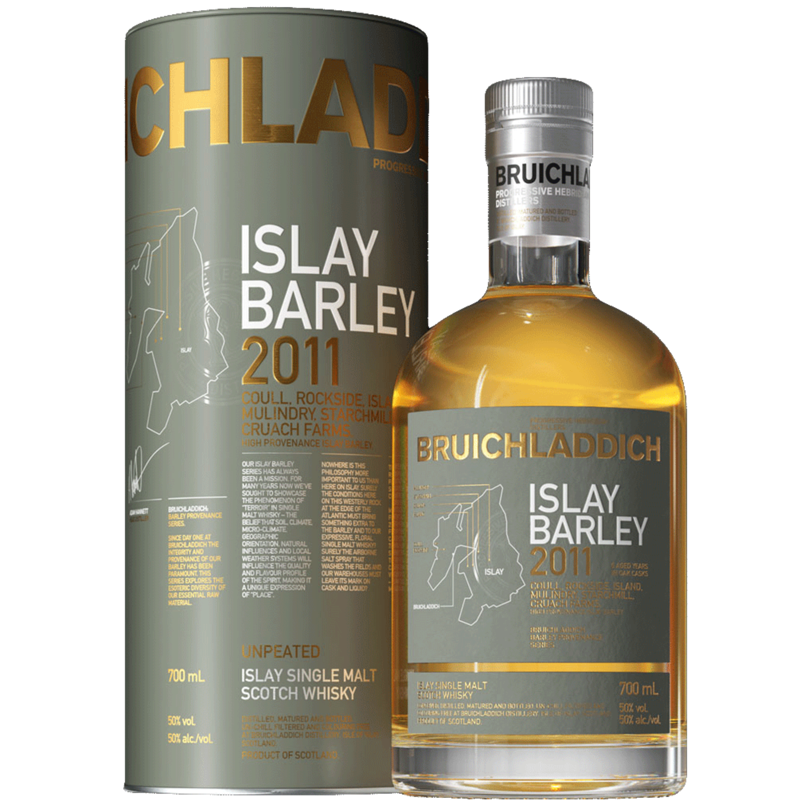 Spirits Bruichladdich Scotch Single Malt 2011 Islay Barley