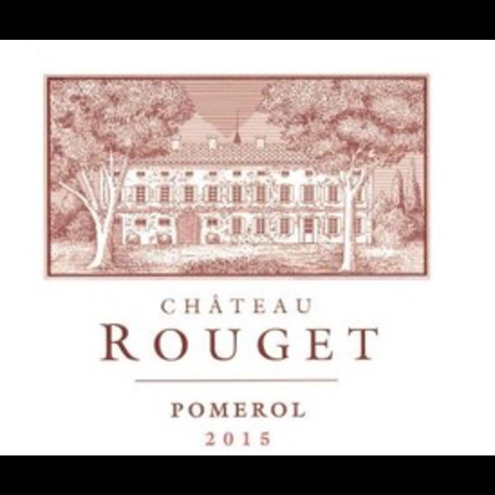 Wine Chateau Rouget Pomerol 2015