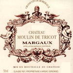 Moulin de Tricot Margaux 2015
