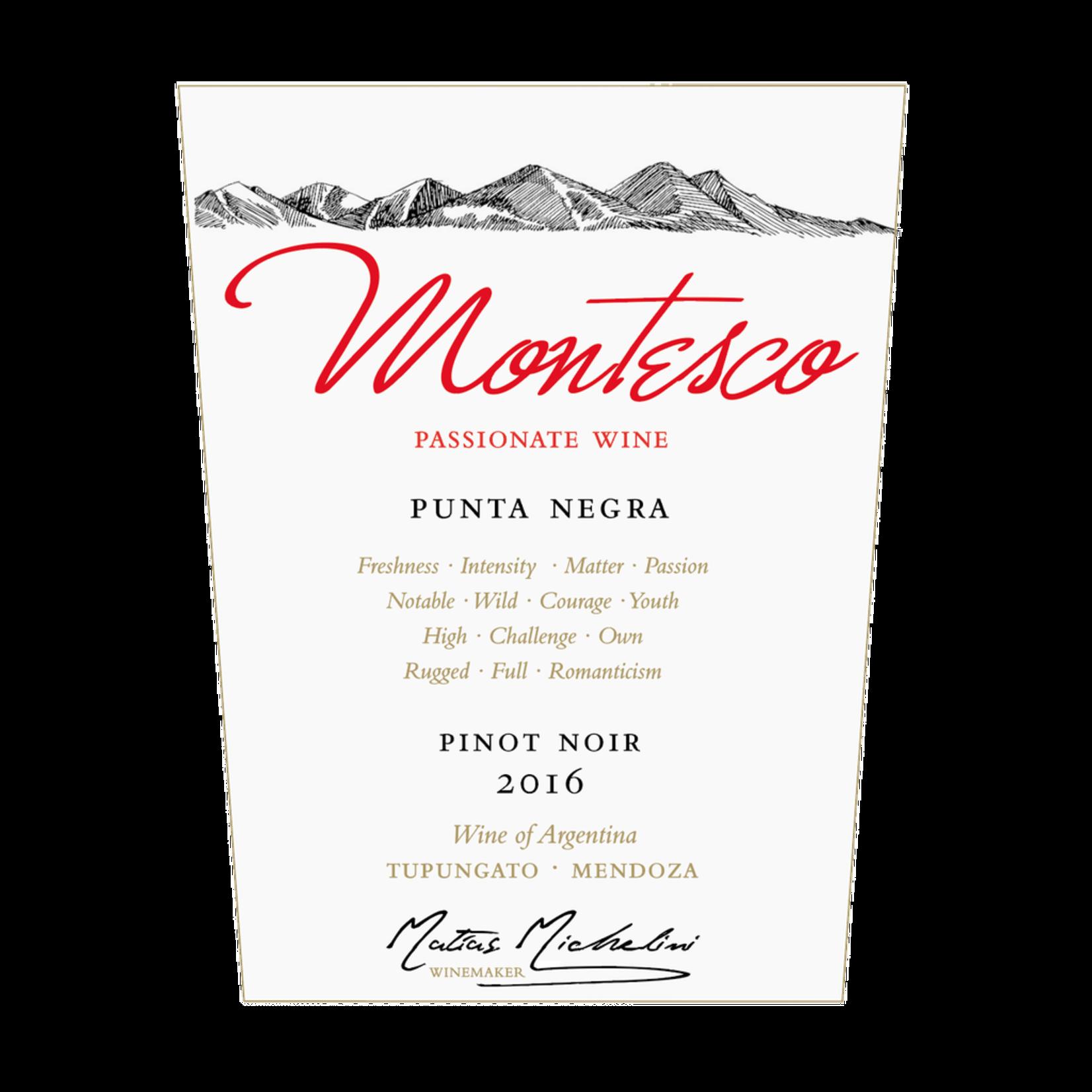 Wine Montesco Punta Negra Pinot Noir 2017