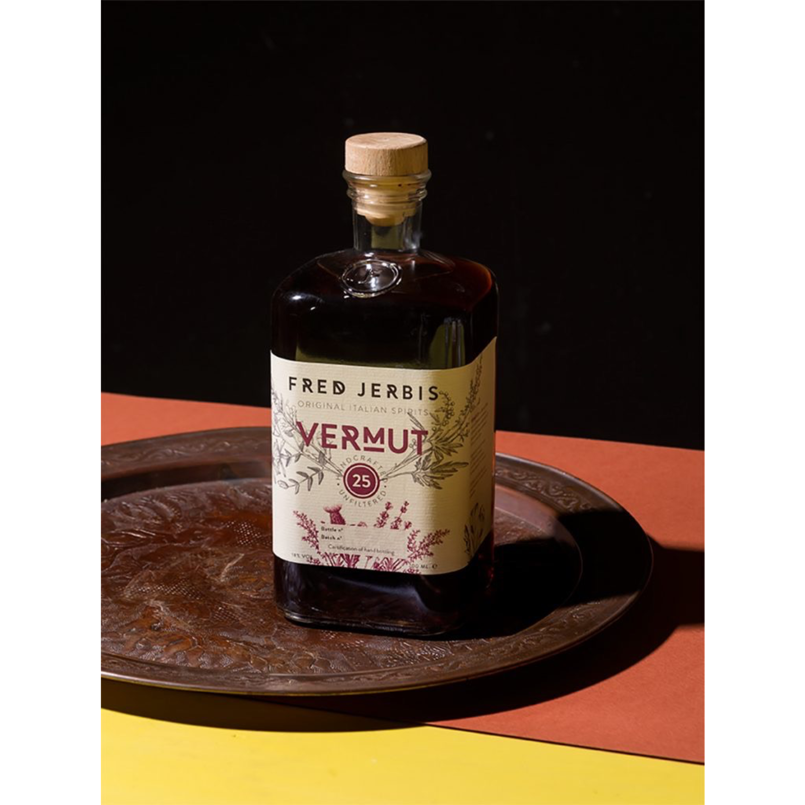 Spirits Fred Jerbis Vermut 25 Rouge Handcrafted, Unfiltered