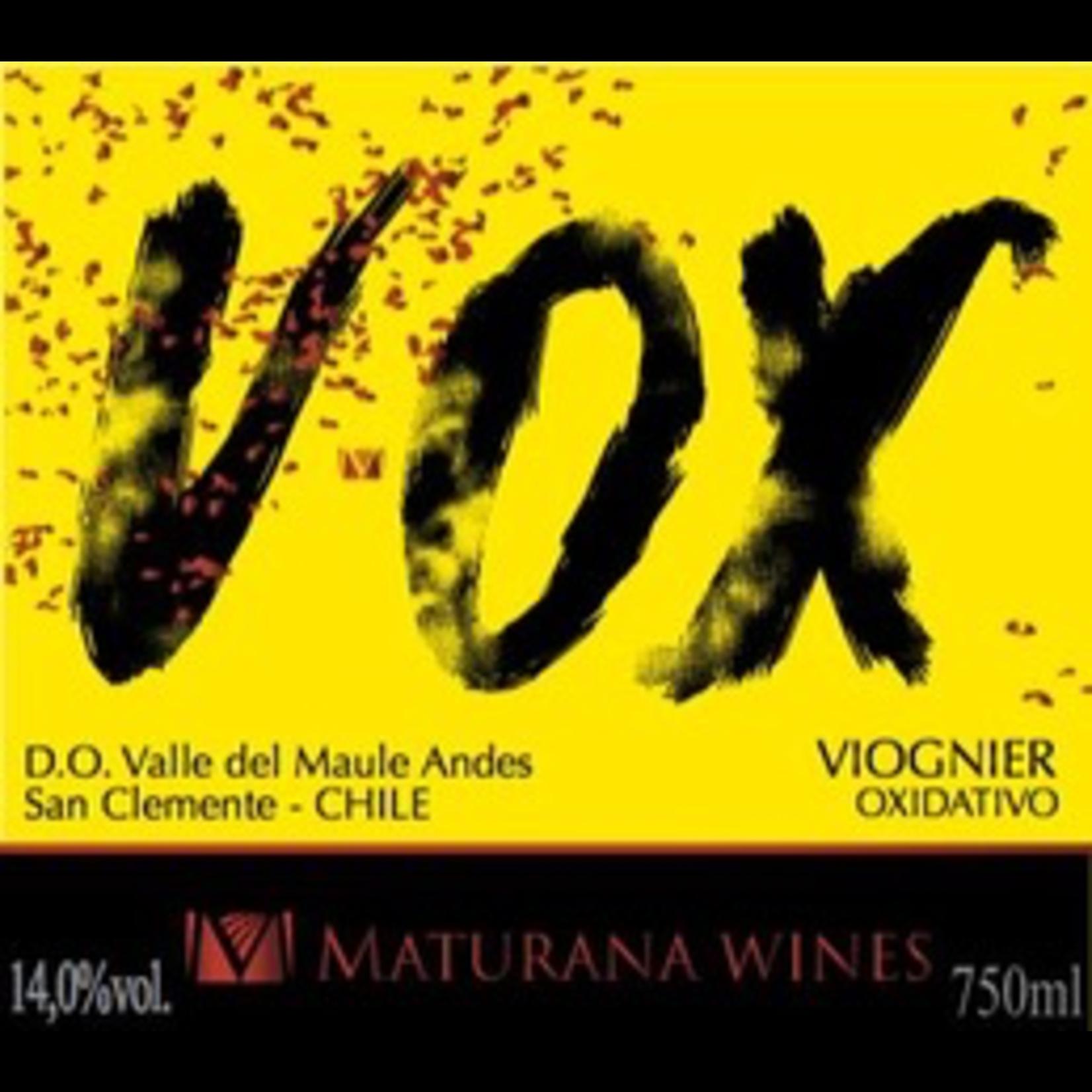 Maturana Wines VOX Viognier Oxidativo Valle del Maule 2018