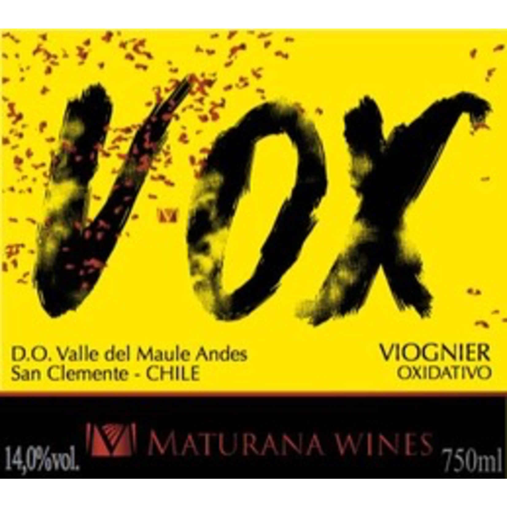 Wine Maturana Wines VOX Viognier Oxidativo Valle del Maule 2018