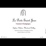 La Porte Saint Jean Saumur-Champigny 2017