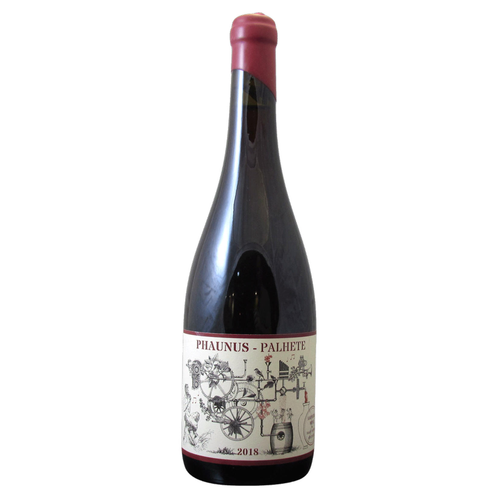 Wine Aphros Vinho Verde Phaunus Palhete Amphora 2018