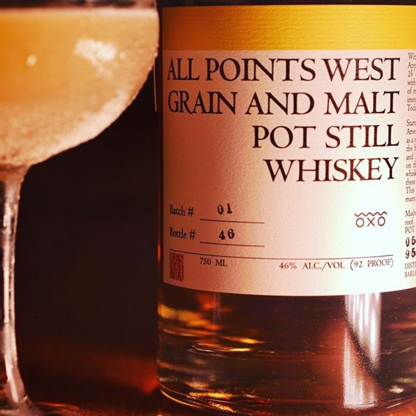 Spirits All Points West Grain and Malt Pot Still Whiskey