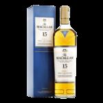 The Macallan Scotch Single Malt 15 Year Triple Cask