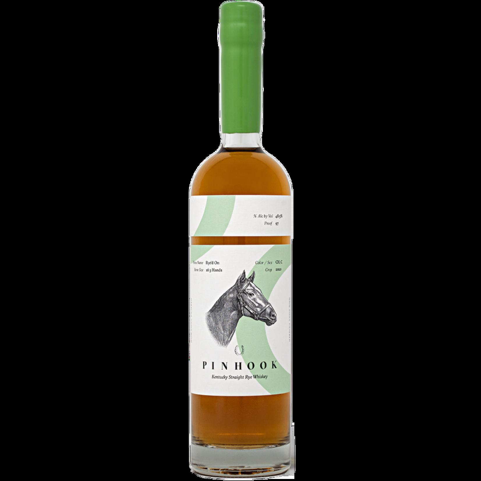 Spirits Pinhook Rye'd On Kentucky Straight Rye Whiskey Perfect Proof 97°