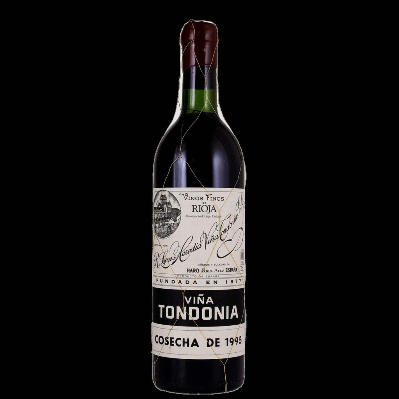 Wine Lopez de Heredia Rioja Tondonia Gran Reserva 1995