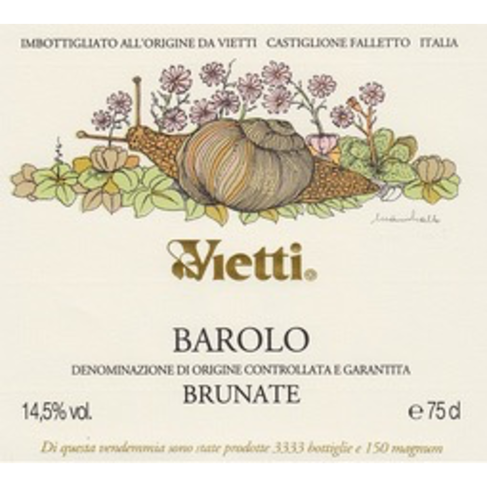 Wine Vietti Barolo Brunate 2016