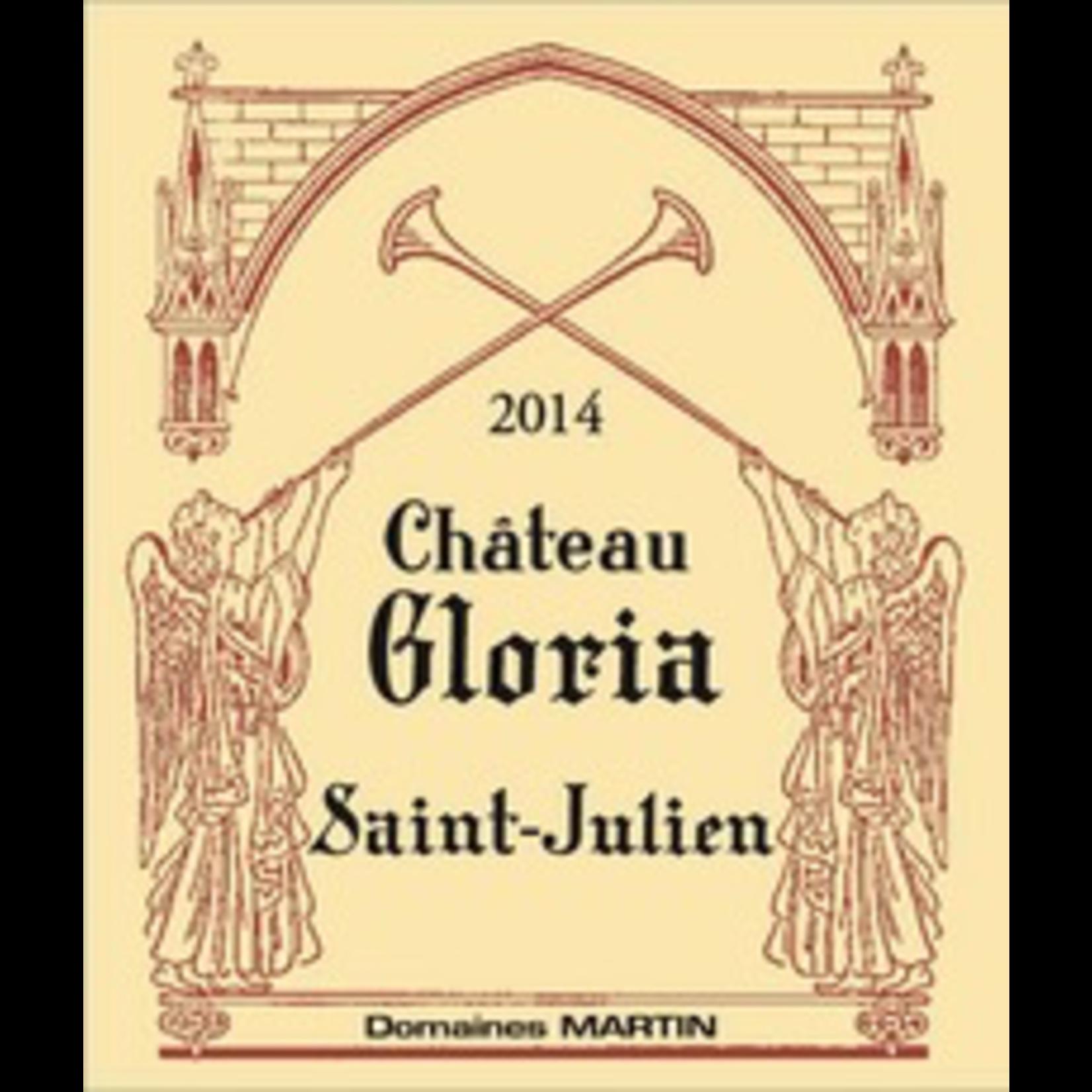 Wine Chateau Gloria Saint-Julien 2015