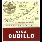 Wine Lopez de Heredia Rioja Vina Cubillo Crianza 2010