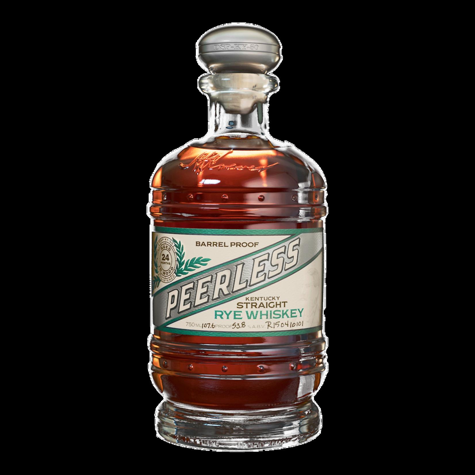Spirits Peerless Rye Whiskey Barrel Proof
