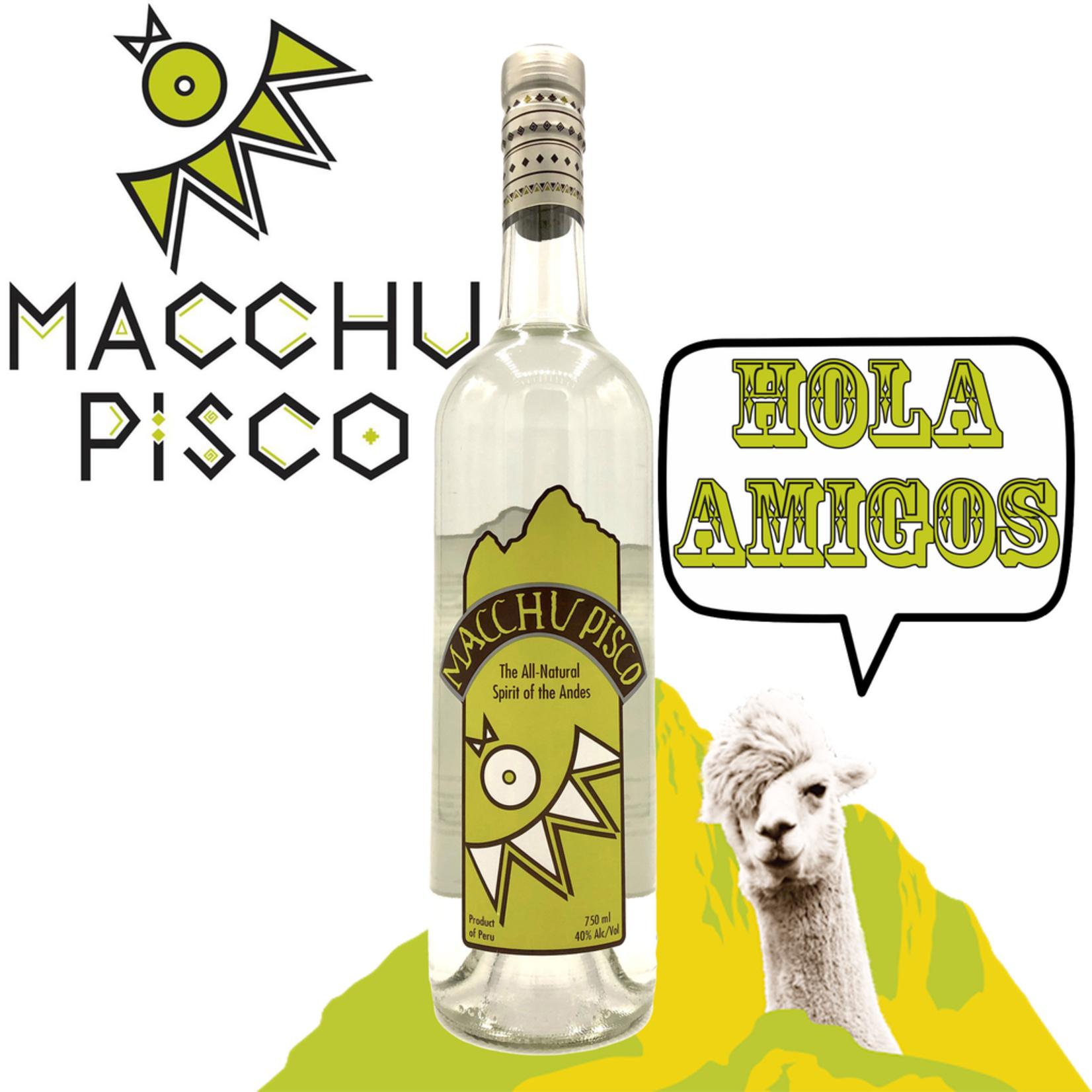 Spirits Macchu Pisco