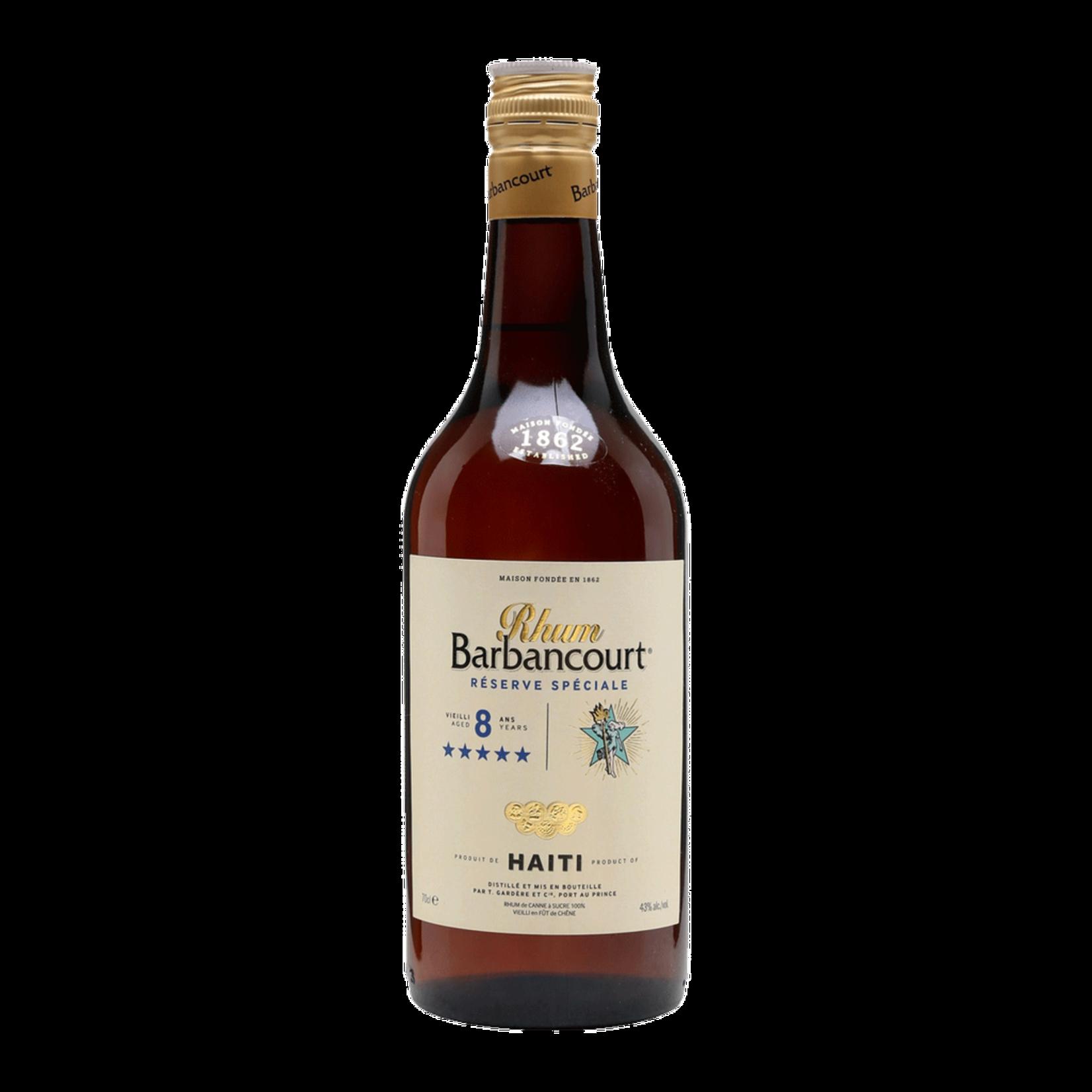 Spirits Barbancourt Rum Reserve Speciale 8 Year 5 Star Haiti