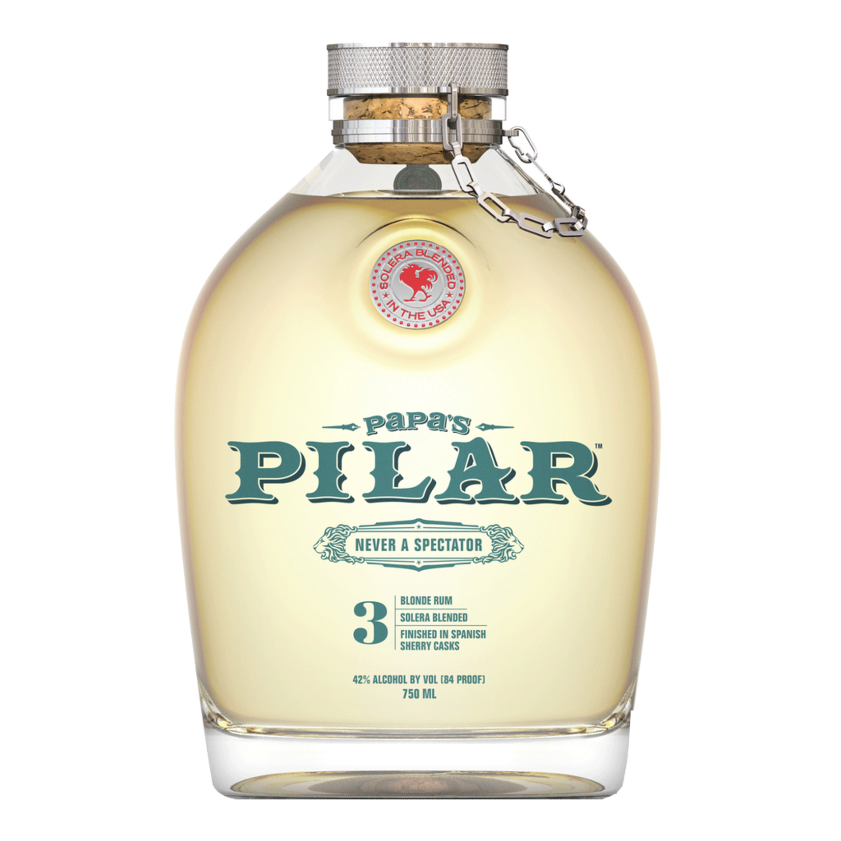 Spirits Papas Pilar Rum Blonde