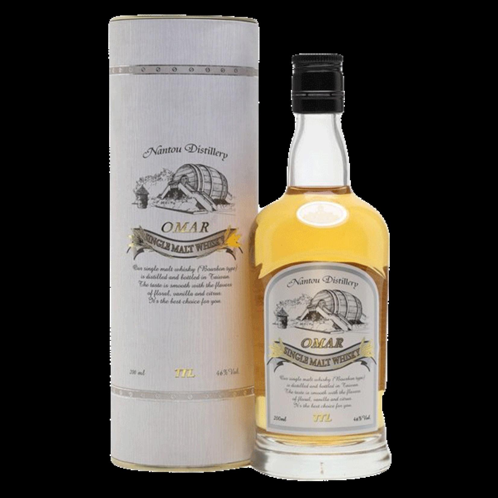 Spirits Omar Single Malt Whiskey Bourbon Barrel Finish Taiwanese Whisky (NV)