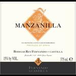 Wine Bodegas Rey Fernando de Castilla Manzanilla Sanlúcar de Barrameda Sherry 375ml