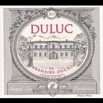 Wine Duluc de Branaire Ducru Saint Julien 2011
