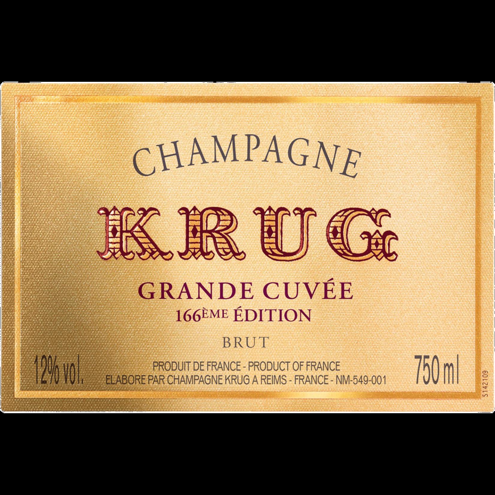 Krug Grande Cuvee 167th Edition Brut Champagne