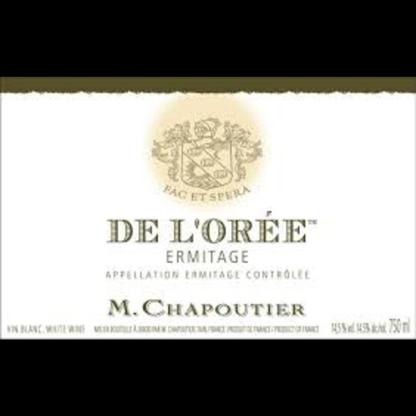 Wine Chapoutier Ermitage Blanc de l'Oree 1999 owc