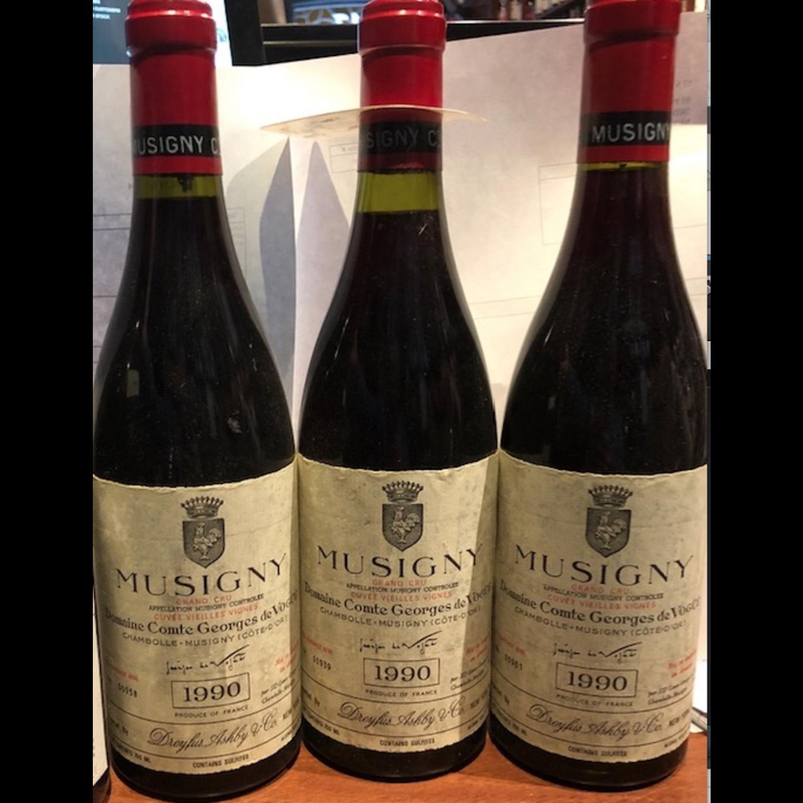 Wine Domaine Comte Georges de Vogue Musigny Grand Cru Vieilles Vignes 1990