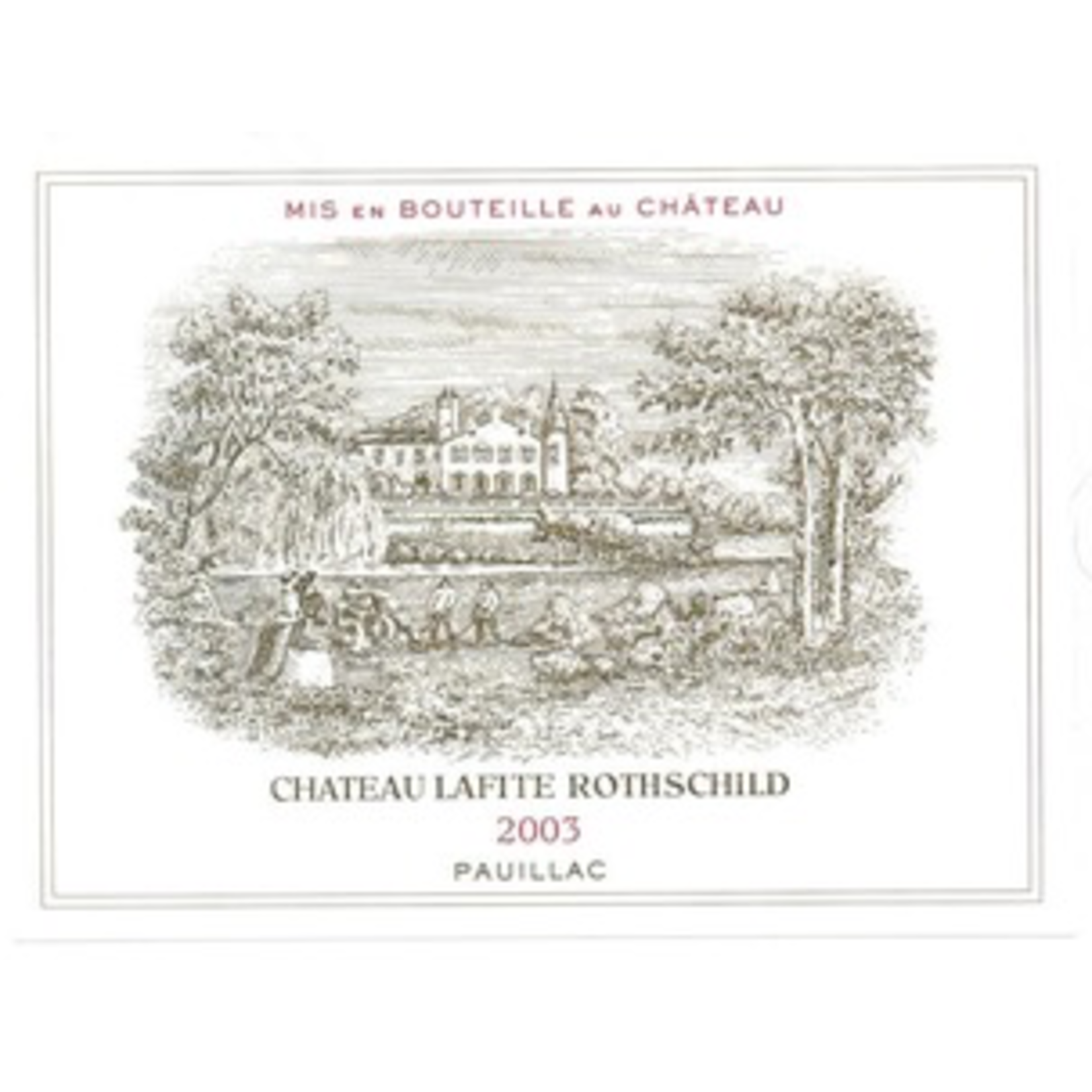 Wine Chateau Lafite Rothschild 2003
